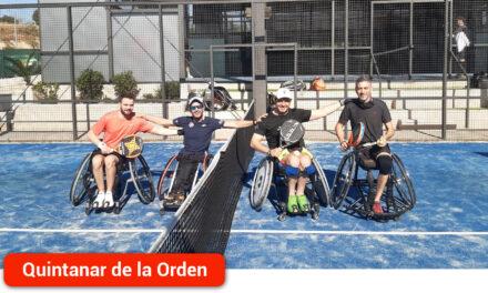 Rubén de Diego y su compañero quedan segundos en el tercer torneo de la liga Wheelchair Pádel Series