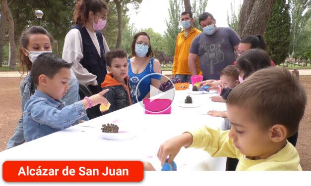 Los más pequeños aprenden a respetar y cuidar la naturaleza en el Parque Alces poniendo en valor la biodiversidad y el entorno