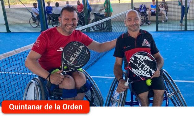 El quintanareño Rubén de Diego jugará el Campeonato de España de Pádel en silla de ruedas