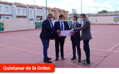 La Junta de Comunidades renovará y reparará la pista deportiva del IES Infante Don Fadrique