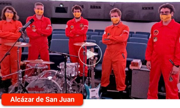 'The Gagarins' actúa en el Planetario de Madrid en el 58 aniversario del primer viaje especial de Valentina Tereshkova