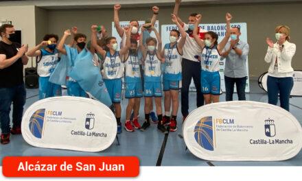 El CB Sonseca se proclamó campeón en la final del Circuito Alevín Masculino de Baloncesto que se jugó en el Vicente Paniagua