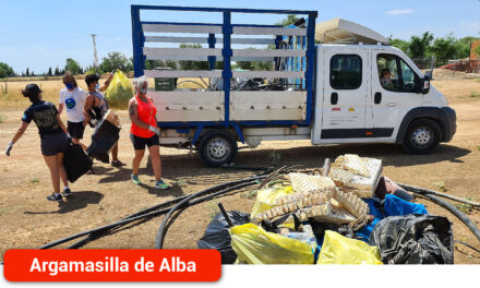 Argamasilla de Alba se suma al proyecto '1m2 contra la basuraleza'
