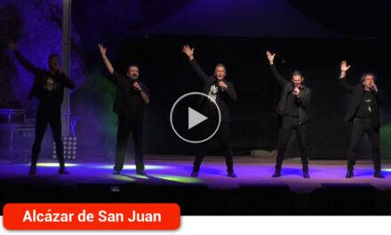 'B vocal' llenó el Auditorio Corazón de La Mancha de humor, buen rollo y sorprendente música a cappella con sus 'Vocalocuras'