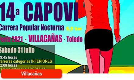 217 corredores participarán mañana en la 14ª CAPOVI