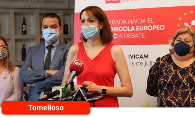 Cristina Maestre: «El PSOE está permanentemente en interlocución con el sector agrícola tanto en Europa como en Castilla-La Mancha trabajando de manera activa en todas las instituciones para defender nuestro campo»