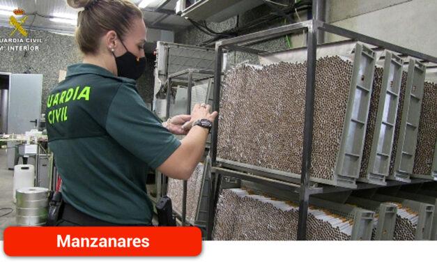 Desarticulada una organización criminal internacional dedicada a la fabricación y distribución de tabaco ilegal