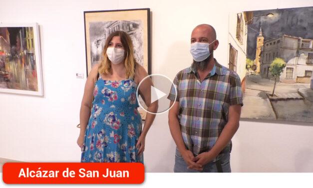 Paisajes urbanos, industriales y naturales en la exposición del XXI Certamen de Pintura Rápida 'Ángel Lizcano Monedero'