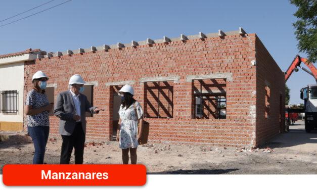 Las obras del nuevo centro de día para mayores de 50 años del Centro Ocupacional marchan a buen ritmo