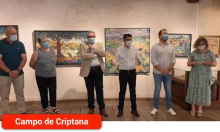 El Pintor José Manuel Cañas Reíllo inunda el Pósito de paisajes y colorido