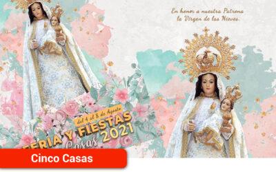 Todo listo para las Fiestas de la Virgen de las Nieves