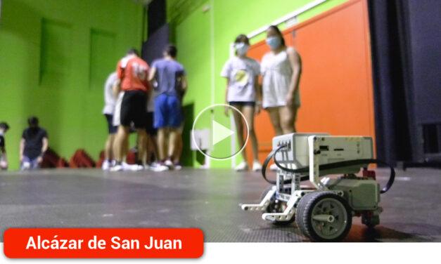 12 jóvenes disfrutan del primer Campus de Verano de Robótica