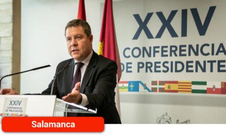 """García-Page valora el """"compromiso unánime"""" planteado por todas las autonomías por cumplir con el objetivo de vacunación"""