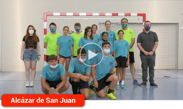 El VII Clinic organizado por el CD Futsal Alcázar reúne a 25 chicos y chicas de entre 7 a 14 años