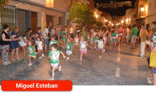 La XIII Carrera Popular infantil de 'Los Charcones' se adelanta al viernes 27 de agosto