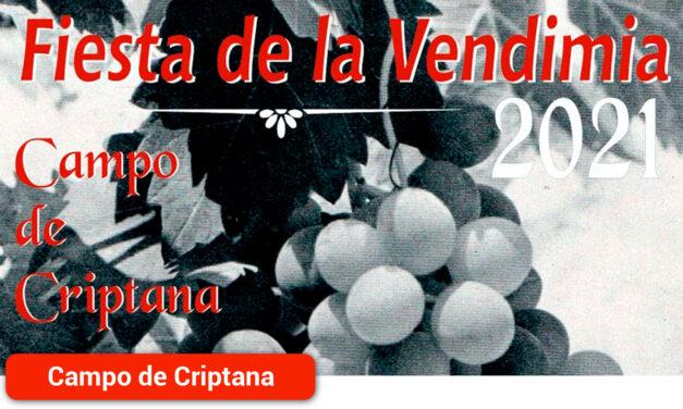 Campo de Criptana celebra la Fiesta de la Vendimia este sábado, 4 de septiembre