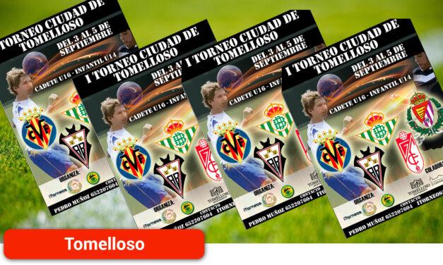 """Jiménez presenta el I Torneo de Fútbol Base 'Ciudad de Tomelloso', """"que nace para consolidarse y crecer"""""""