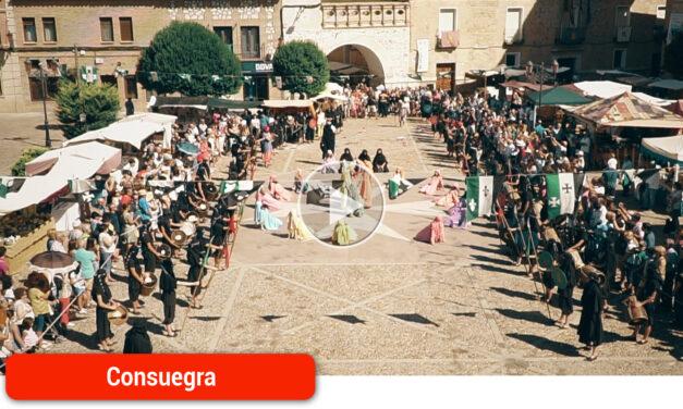 La inauguración del Mercado artesano da el pistoletazo de salida a la conmemoración del 25 aniversario de 'Consuegra Medieval'