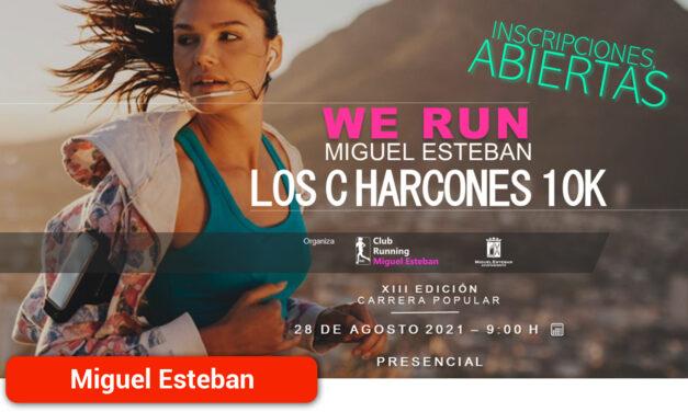 La XIII Carrera 'Los Charcones 10K' se celebrará el 28 de agosto en horario matinal