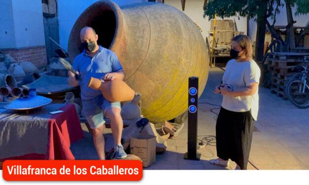 Un total de 225 personas han participado de las Noches del Patrimonio en Villafranca de los Caballeros