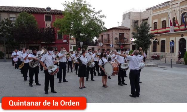 Inauguración de sus fiestas patronales con un pasacalles de la Banda Sinfónica Municipal