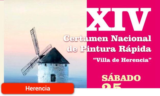 """Nueva edición del Certamen de Pintura Rápida """"Villa de Herencia"""" con más de 3.000 euros en premios"""