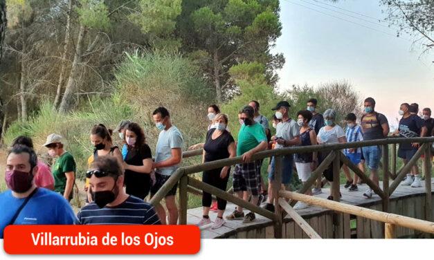 Más de 90 personas disfrutaron de la ruta de senderismo «Historias y Secretos del Río Cigüela»