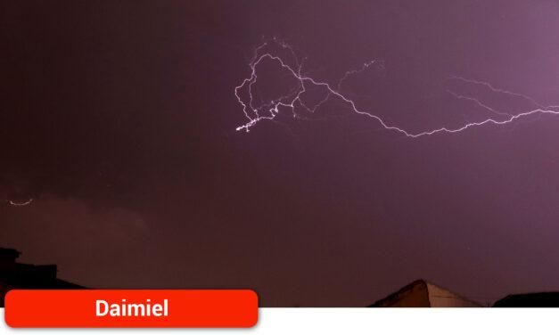 La tormenta descargó con mayor fuerza donde confluyen los términos municipales de Manzanares, Almagro, Bolaños y Daimiel