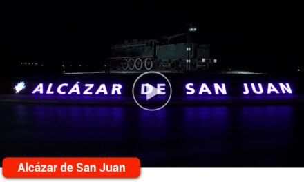 La rotonda de entrada a la ciudad ya cuenta con letras corpóreas e iluminación artística que se podrá modificar con distintos colores