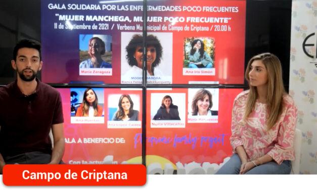 """Entrevista a Ana Huertas, periodista que participará en la Gala Solidaria """"Mujer Manchega, Mujer Poco Frecuente"""""""