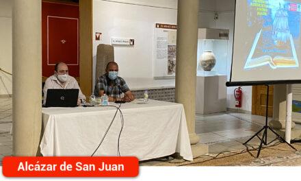 Ángel Martín-Fontecha presenta su tesela entorno al centenar de alcazareños que emigraron a América en el siglo XVI