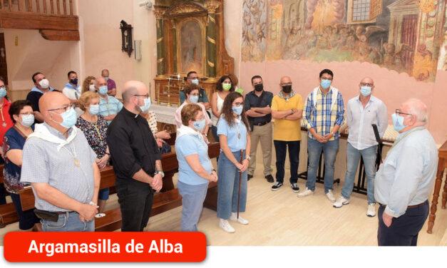 Entrega de la Virgen de Peñarroya al pueblo de La Solana