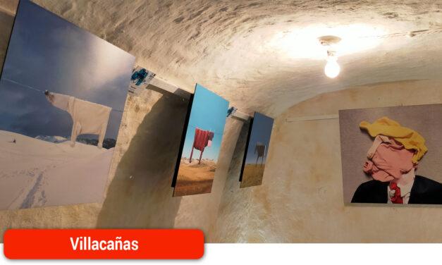 Arte contemporáneo internacional en las paredes de las habitaciones de un silo