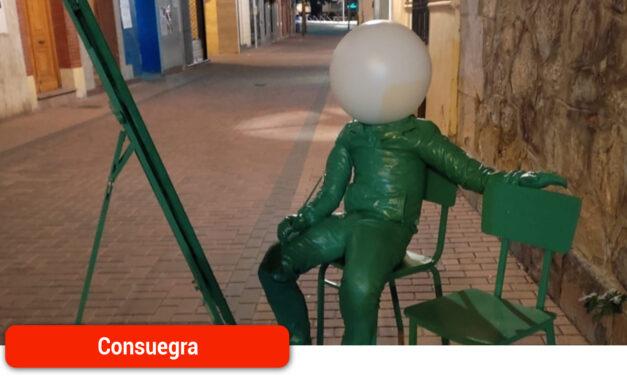 Consuegra amanece con el arte urbano de Juan Sánchez Borox