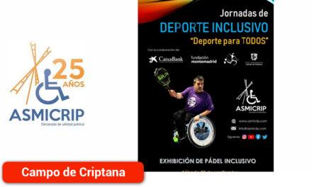Asmicrip celebra las Jornadas de Deporte Inclusivo