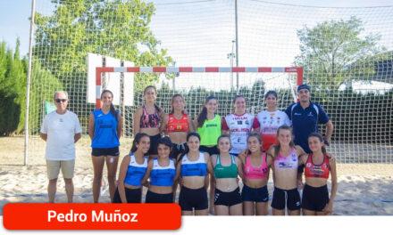 Participación pedroteña en el Campeonato de España de Selecciones autonómicas de Balonmano Playa