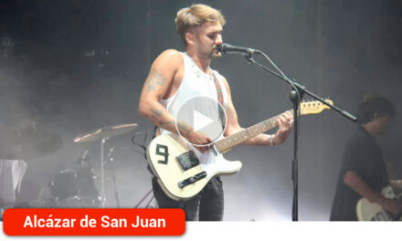 Dani Fernández se sintió arropado por su gente en el concierto de Feria