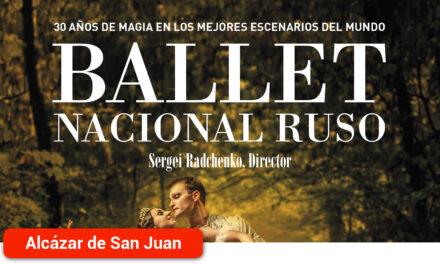 El Ballet Nacional Ruso dirigido por Sergei Radchenko, regresa al Teatro Auditorio Emilio Gavira de Alcázar de San Juan con 'El Cascanueces'