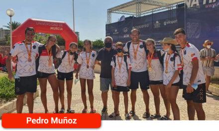 Los deportistas cosechan grandes logros en el Campeonato de España de Balonmano Playa