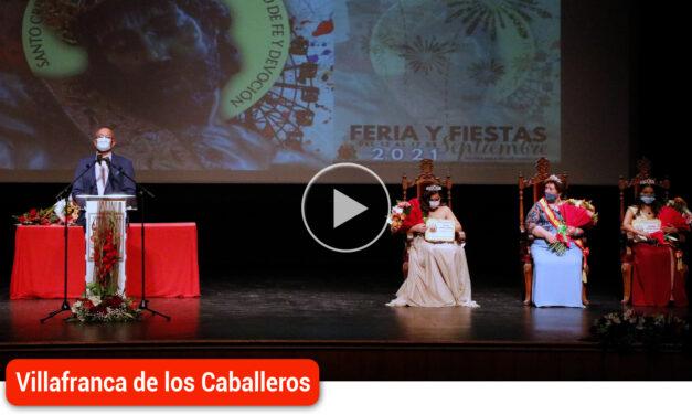 La tradicional ofrenda floral y el  pregón del historiador local Félix Patiño dieron comienzo a las fiestas en honor al Cristo de Santa Ana