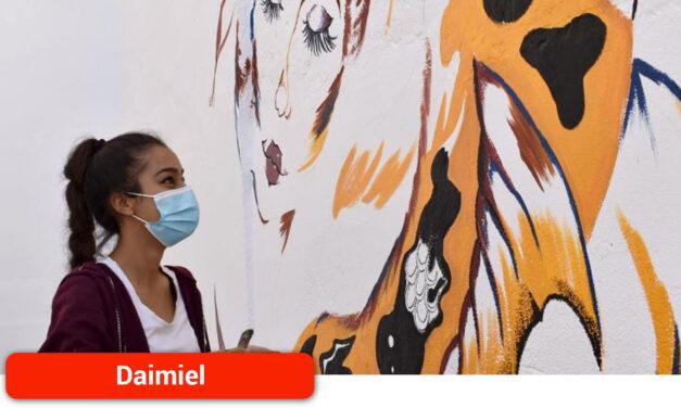 El arte urbano llega al patio de la Casa de Cultura