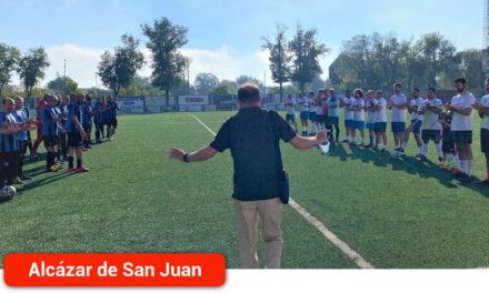Partido homenaje a Matías López, director de la Escuela de Fútbol y exconcejal de Deportes