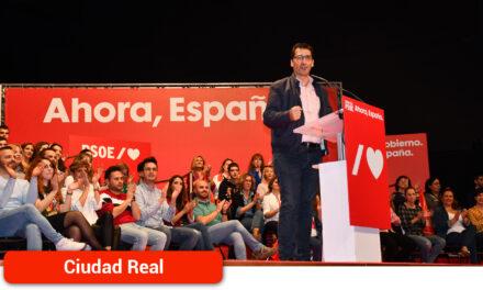 José Manuel Caballero proclamado secretario general de los socialistas de Ciudad Real tras haber superado ampliamente los avales necesarios