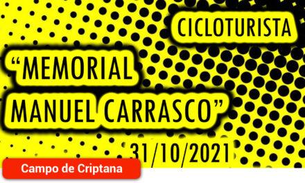 """Abiertas las inscripciones para la Cicloturista """"Memorial Manuel Carrasco"""""""