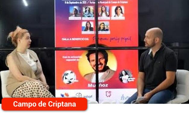 """Entrevista a María Zaragoza de cara a la Gala Solidaria """"Mujer Manchega, Mujer Poco Frecuente"""""""