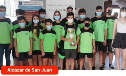El equipo juvenil de 'Nuestro Ajedrez en Europa', subcampeón de Castilla-La Mancha