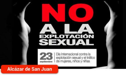 El Ayuntamiento se suma a los actos del Día Mundial contra la Explotación Sexual y la Trata de Personas