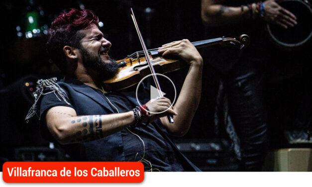 """STRAD, el violinista rebelde, trae sus """"Mundos opuestos"""" al Auditorio Municipal"""
