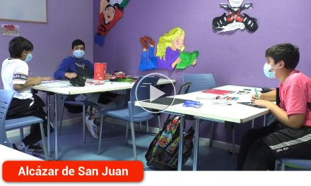 Espacio Saturno recupera su labor socio-educativa con 42 jóvenes en el Centro Covadonga