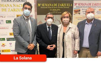 El Gobierno regional felicita a la organización de la Semana de la Zarzuela de La Solana por el éxito de su trigésimo octava edición